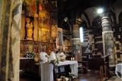 Basilica Nostra Signora del Regno: Un momento della Santa Messa (3) – Foto di Sardegna Terra di Pace – Tutti i diritti riservati