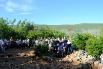 Medjugorje, Anniversario 2015: la Croce del 26 giugno 1981 (4) – Foto di Sardegna Terra di Pace – Tutti i diritti riservati