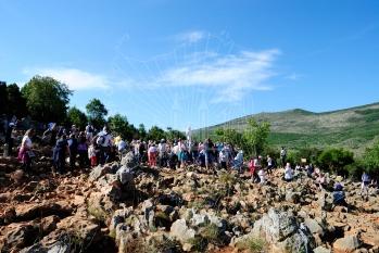 Medjugorje, Anniversario 2015: Podbrdo (4) – Foto di Sardegna Terra di Pace – Tutti i diritti riservati