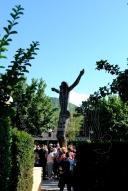 Anniversario 2015: statua del Cristo Risorto – Foto di Sardegna Terra di Pace – Tutti i diritti riservati