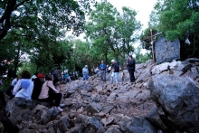 Medjugorje, Anniversario 2015: Via Crucis sul Krizevac (2) – Foto di Sardegna Terra di Pace – Tutti i diritti riservati