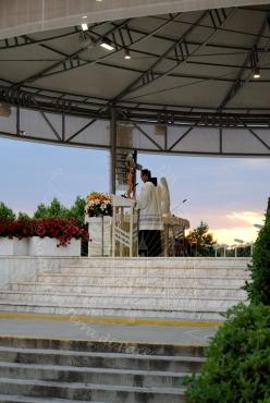 Medjugorje, Anniversario 2015: santa Messa – Foto di Sardegna Terra di Pace – Tutti i diritti riservati