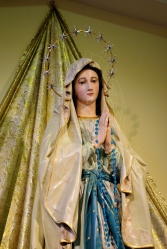 Medjugorje, Anniversario 2015: statua Madonna di Lourdes (2) – Foto di Sardegna Terra di Pace – Tutti i diritti riservati