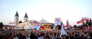 Medjugorje, Mladifest 2015: Altare esterno – Foto di Sardegna Terra di pace – Tutti i diritti riservati