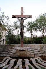 Medjugorje, Mladifest 2015: Crocefisso presso i ceri votivi – Foto di Sardegna Terra di pace – Tutti i diritti riservati