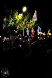 Medjugorje, Mladifest 2015: Processione – Foto di Sardegna Terra di pace – Tutti i diritti riservati