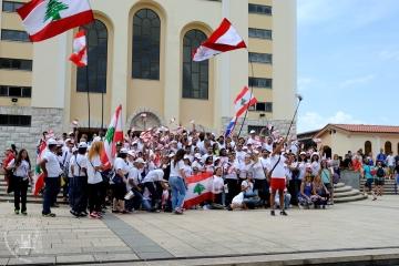 Medjugorje, Mladifest 2015: Pellegrini libanesi – Foto di Sardegna Terra di pace – Tutti i diritti riservati