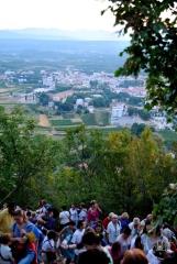 Medjugorje, Mladifest 2015: Panorama di Medjugorje dal Krizevac – Foto di Sardegna Terra di pace – Tutti i diritti riservati
