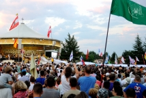 Medjugorje, Mladifest 2015: Telo con le preghiere – Foto di Sardegna Terra di pace – Tutti i diritti riservati