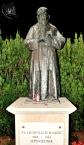 Medjugorje, Mladifest 2015: Statua di san Leopoldo – Foto di Sardegna Terra di pace – Tutti i diritti riservati