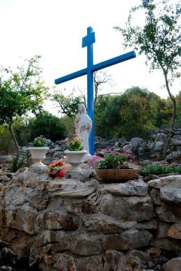 Medjugorje, B.V.M. Assunta 2015: Statua della Madonna (2) – Foto di Sardegna Terra di pace – Tutti i diritti riservati