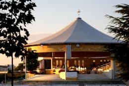 Medjugorje, Esaltazione della Croce 2015: Altare esterno – Foto di Sardegna Terra di pace – Tutti i diritti riservati