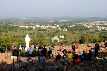 Medjugorje, Esaltazione della Croce 2015: Collina delle apparizioni – Foto di Sardegna Terra di pace – Tutti i diritti riservati