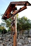 Medjugorje, Esaltazione della Croce 2015: Crocifisso presso la Collina delle apparizioni – Foto di Sardegna Terra di pace – Tutti i diritti riservati