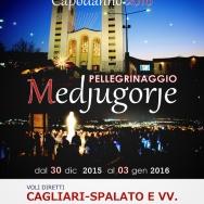 Locandina Pellegrinaggio Medjugorje Capodanno 2015/2016 – Foto di Sardegna Terra di Pace – Tutti i diritti riservati