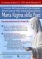 Locandina programma del terzo anniversario della p.zza Regina della Pace