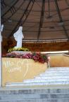 Medjugorje, Esaltazione della Croce 2015: Statua della Regina della pace – Foto di Sardegna Terra di pace – Tutti i diritti riservati