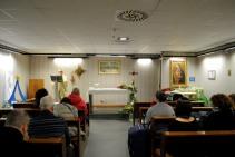 Cappella Aeroporto Roma, Capodanno 2016: Santa Messa - Foto di Sardegna Terra di Pace – Tutti i diritti riservati