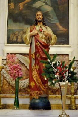 Dubrovnik, Capodanno 2016: Statua del Sacro Cuore presso la Cattedrale - Foto di Sardegna Terra di Pace – Tutti i diritti riservati