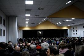 Medjugorje, Capodanno 2016: Adorazione Eucaristica al capannone Giovanni Paolo II - Foto di Sardegna Terra di Pace – Tutti i diritti riservati