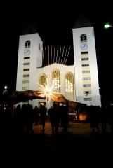 Medjugorje, Capodanno 2016: Chiesa di San Giacomo (3) - Foto di Sardegna Terra di Pace – Tutti i diritti riservati