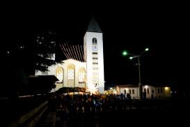 Medjugorje, Capodanno 2016: Chiesa di San Giacomo (6) - Foto di Sardegna Terra di Pace – Tutti i diritti riservati
