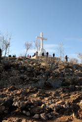 Medjugorje, Capodanno 2016: Croce sul Krizevac: Foto di Sardegna Terra di Pace – Tutti i diritti riservati