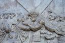 Medjugorje, Capodanno 2016: Formella della Via Crucis al Krizevac: Foto di Sardegna Terra di Pace – Tutti i diritti riservati