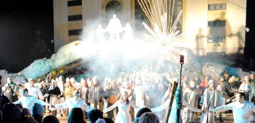 Medjugorje, Capodanno 2016: Musical Presepe vivente (10): Foto di Sardegna Terra di Pace – Tutti i diritti riservati