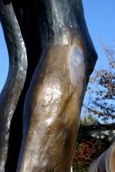 Medjugorje, Capodanno 2016: Particolare della statua del Cristo Risorto - Foto di Sardegna Terra di Pace – Tutti i diritti riservati