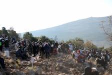 Medjugorje, Capodanno 2016: Statua Regina della Pace sul Podbrdo - Foto di Sardegna Terra di Pace – Tutti i diritti riservati