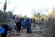 Medjugorje, Capodanno 2016: Salita al Krizevac: Foto di Sardegna Terra di Pace – Tutti i diritti riservati