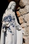Medjugorje, Capodanno 2016: Statua della Madonna (2): Foto di Sardegna Terra di Pace – Tutti i diritti riservati