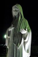Medjugorje, Capodanno 2016: Statua della Regina della Pace (2): Foto di Sardegna Terra di Pace – Tutti i diritti riservati