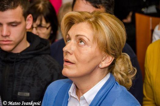 Medjugorje: Mirjana durante l'apparizione del 2 Febbraio 2016 - Foto di Mateo Ivanković – Tutti i diritti riservati