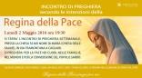 Locandina Incontro di Preghiera Settimanale del 2 maggio 2016