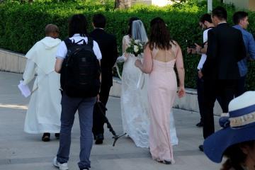 Medjugorje, Anniversario Apparizioni 2016: Gli sposi – Foto di Sardegna Terra di pace – Tutti i diritti riservati