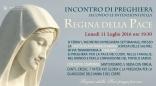 Locandina Incontro di Preghiera Settimanale del 11 Luglio 2016