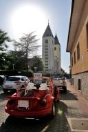 Medjugorje, Anniversario Apparizioni 2016: La macchina degli sposi (2) – Foto di Sardegna Terra di pace – Tutti i diritti riservati