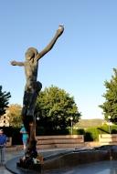 Medjugorje, Anniversario Apparizioni 2016: Statua del Cristo Risorto – Foto di Sardegna Terra di pace – Tutti i diritti riservati