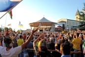 Medjugorje, Mladifest 2016: Altare esterno (10) – Foto di Sardegna Terra di pace – Tutti i diritti riservati