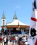 Medjugorje, Mladifest 2016: Altare esterno (14) – Foto di Sardegna Terra di pace – Tutti i diritti riservati