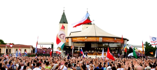 Medjugorje, Mladifest 2016: Altare esterno (3) – Foto di Sardegna Terra di pace – Tutti i diritti riservati