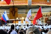 Medjugorje, Mladifest 2016: Altare esterno (4) – Foto di Sardegna Terra di pace – Tutti i diritti riservati