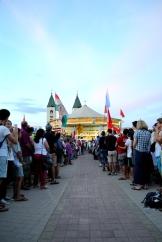 Medjugorje, Mladifest 2016: Altare esterno (6) – Foto di Sardegna Terra di pace – Tutti i diritti riservati