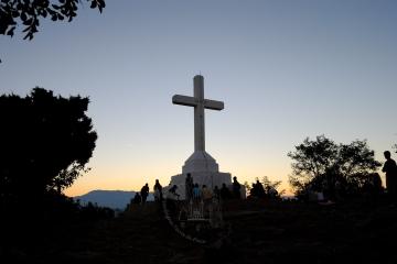 Medjugorje, Mladifest 2016: Croce sul Krizevac (2) – Foto di Sardegna Terra di pace – Tutti i diritti riservati