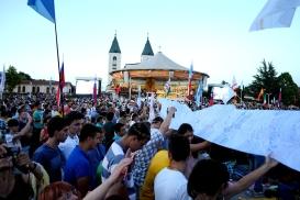 Medjugorje, Mladifest 2016: Preghiere dei pellegrini (5) – Foto di Sardegna Terra di pace – Tutti i diritti riservati