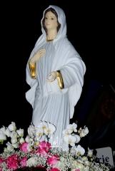 Medjugorje, Mladifest 2016: Statua portata in processione – Foto di Sardegna Terra di pace – Tutti i diritti riservati
