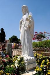 Medjugorje, Mladifest 2016: Statua Regina della Pace (4) – Foto di Sardegna Terra di pace – Tutti i diritti riservati