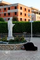 Medjugorje, Mladifest 2016: Statua Regina della Pace – Foto di Sardegna Terra di pace – Tutti i diritti riservati